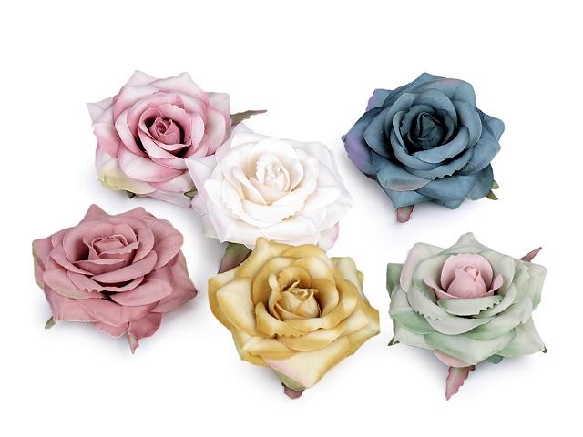 Umelý kvet ruža Ø70 mm