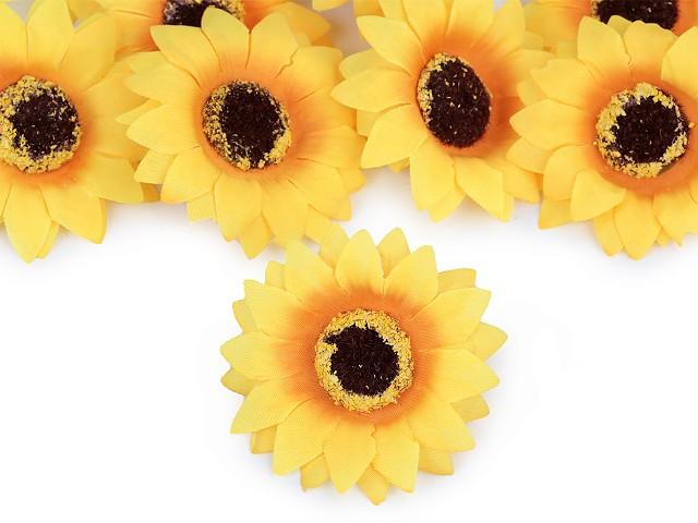 Umelý kvet slnečnica Ø70 mm