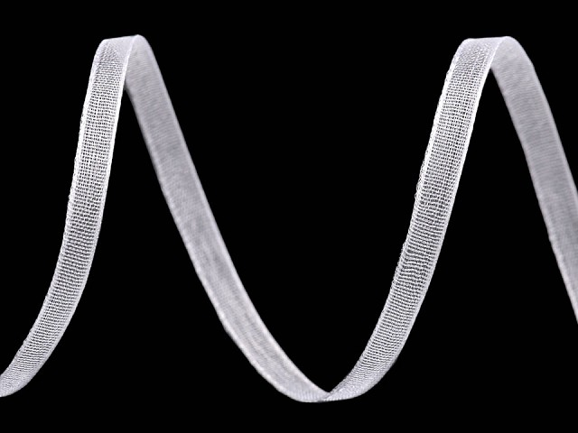 Panglică organza, lățime 3 mm