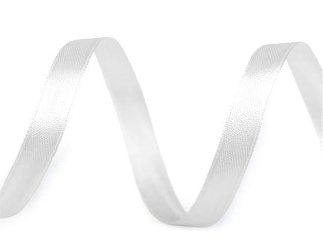 Atlasová stuha oboulící šíře 10 mm