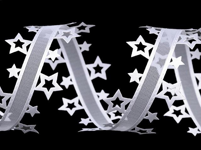 Vysekávaná stuha hviezdy šírka 40 mm