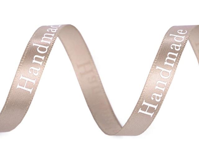 Saténová stuha šíře 9 mm Handmade
