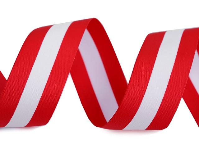 Stuha trikolóra Rakúsko šírka 20 mm