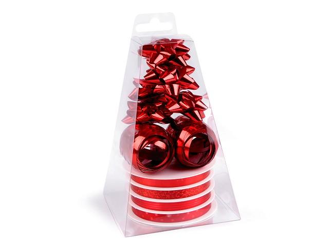 Készlet ajándékok csomagolására piramis