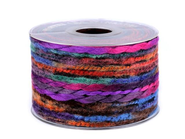 Vlněná stuha / prýmek šíře 63-65 mm