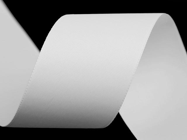 Atlasová hodvábna stuha obojlíca šírka 40 mm matná