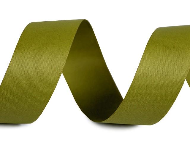 Atlasband / Satinband beidseitig Breite 24 mm matt