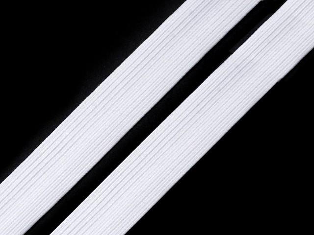 Bande de tresse élastique pour lingerie, largeur 14 mm