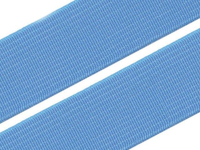 Guma hladká šírka 20mm tkaná farebná ČESKÝ VÝROBOK
