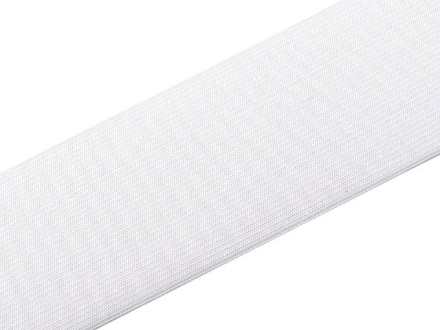 Ruban élastique tissé, largeur 40 mm, FABRICATION TCHÈQUE