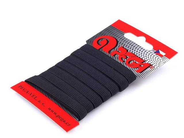 Prádlová pruženka na kartě šíře 8 mm