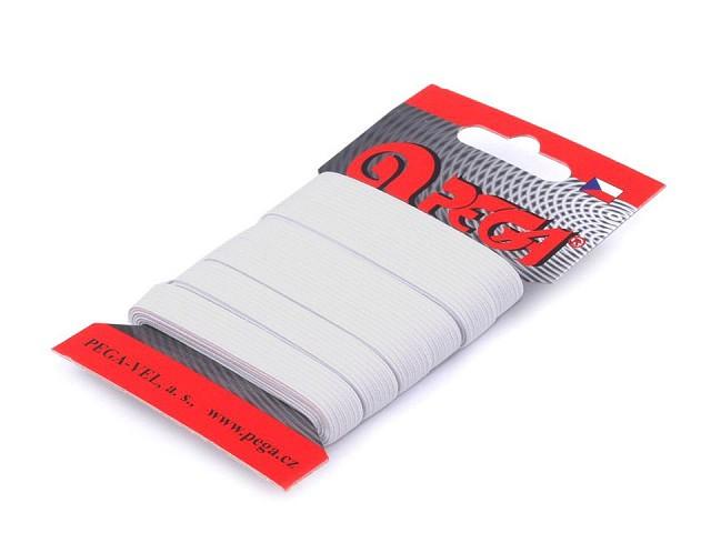 Prádlová pruženka na kartě šíře 9 mm