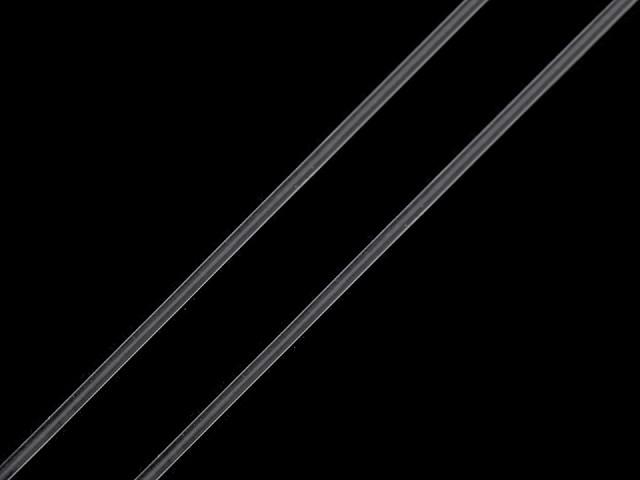 Fir elastic routnd transparent, Ø0,6 mm