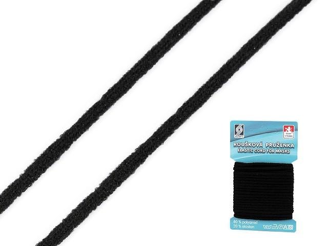 Guľatá gumička rúšková Ø2,5 mm mäkká
