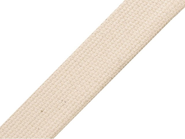 Bavlnený popruh šírka 20 mm