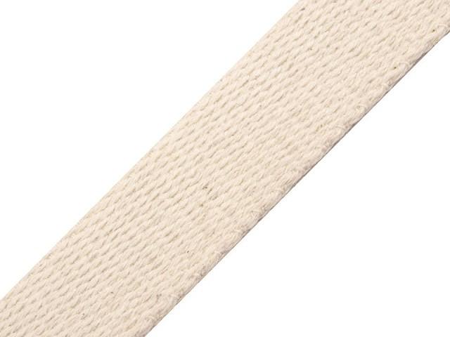 Bavlnený popruh šírka 25 mm