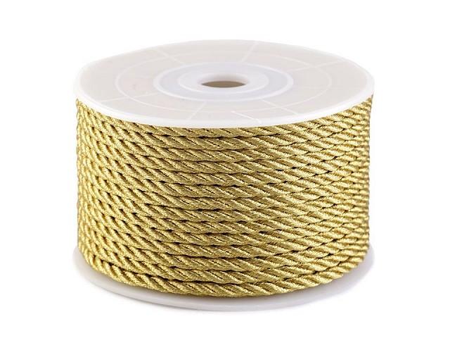 Șnur răsucit lurex, Ø2,5 mm