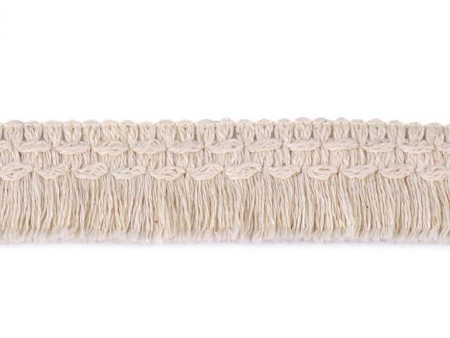 Bavlnené strapce šírka 25 mm