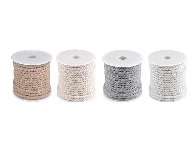 Bavlnená šnúra točená Ø5 mm