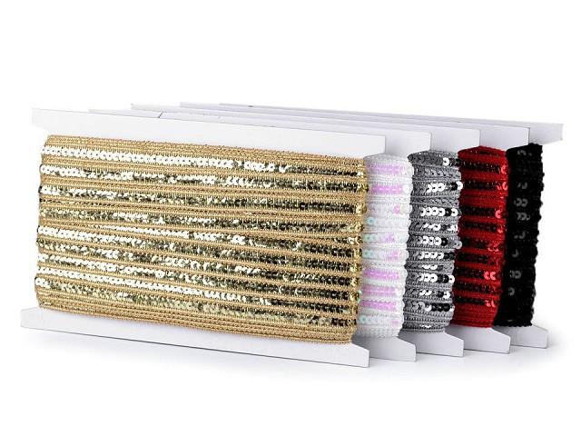 Flitrový prámik šírka 12 mm