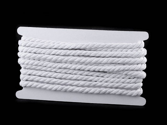 Bavlnená šnúra krútená Ø10 mm