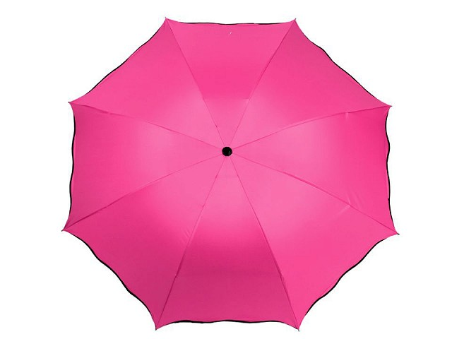 Dámsky skladací dáždnik čarovný