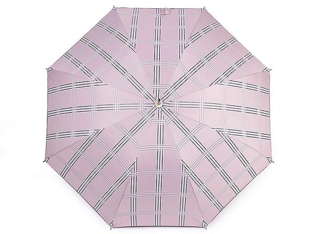 Dámský vystřelovací deštník károvaný