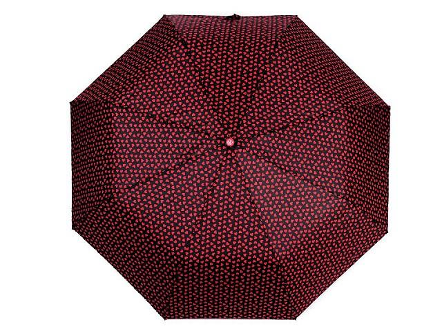 Dámsky skladací vystrelovací dáždnik srdce
