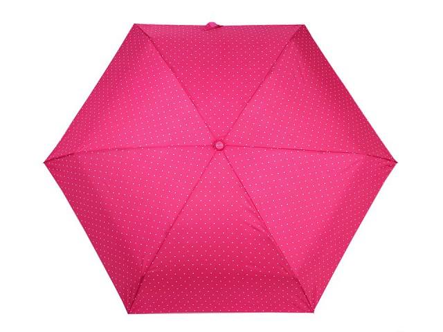 Skladací mini dáždnik s bodkami