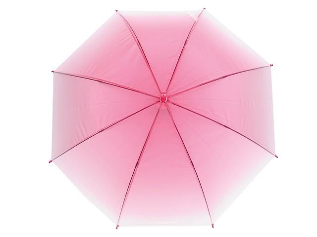 Dámský / dívčí vystřelovací deštník ombré
