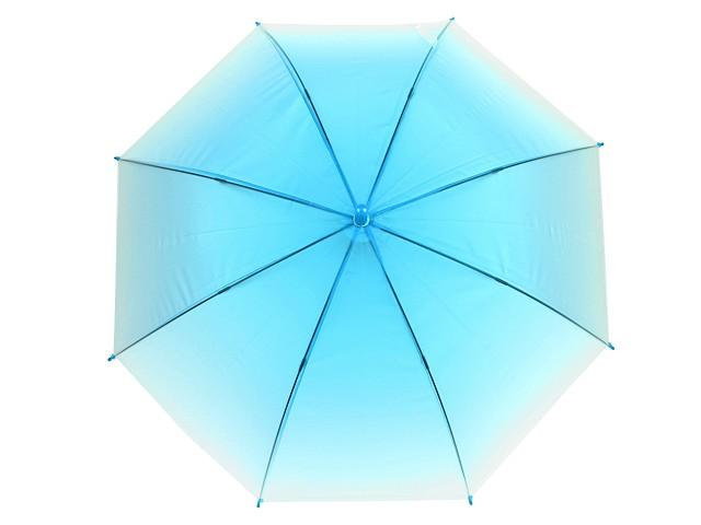 Dámsky / dievčenský vystreľovací dáždnik ombré
