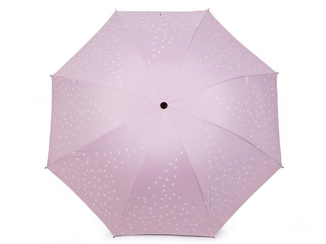 Dámsky skladací dáždnik hviezdy