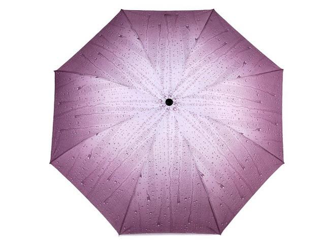 Dámsky skladací dáždnik kvapky