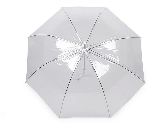 Parasol damski automatyczny przezroczysty