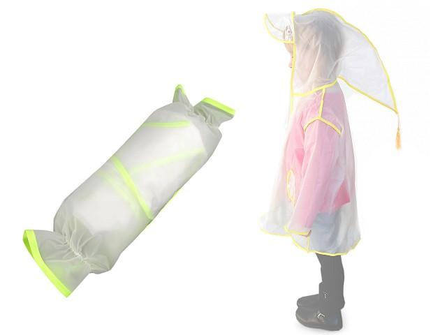 Dětská pláštěnka s kapucí skřítek