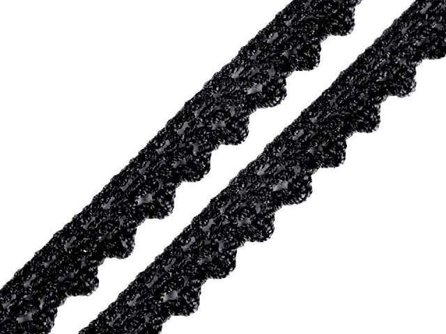 Bavlněná krajka šíře 10 mm paličkovaná