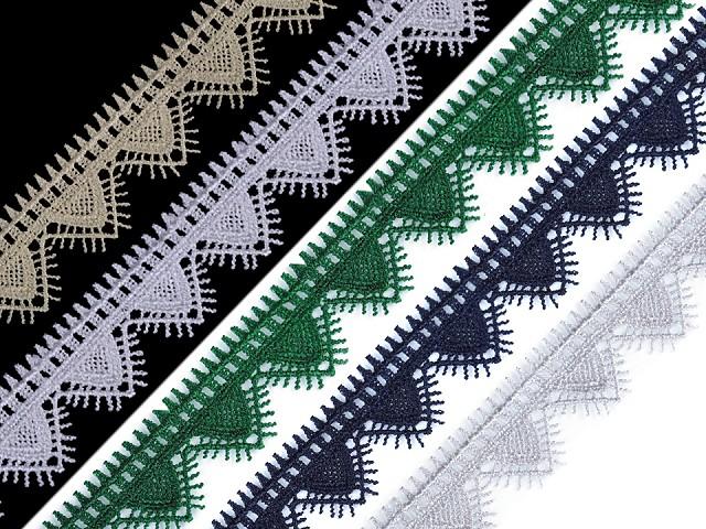 Vzdušná čipka šírka 30 mm