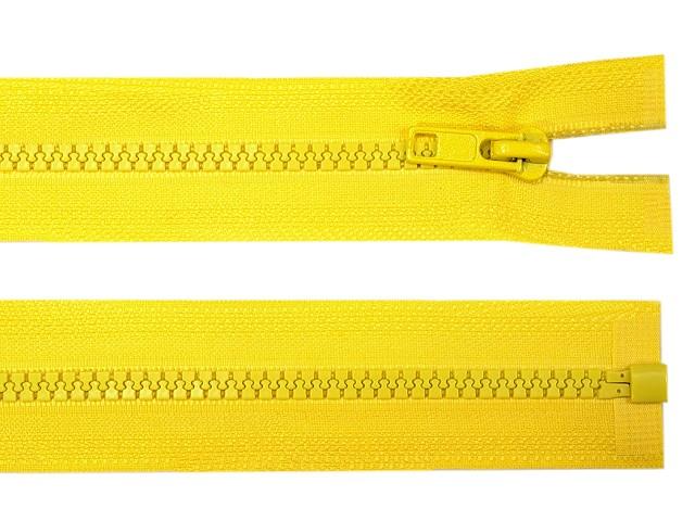 Kostený zips šírka 5 mm dĺžka 75 cm bundový