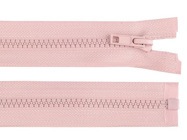 Fermeture Éclair en plastique pour veste, 5 mm, extrémité ouverte, 75 cm
