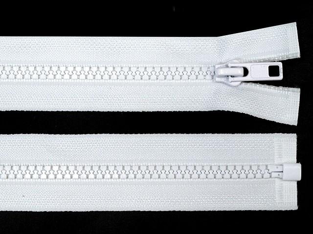 Kostený zips šírka 5 mm dĺžka 80 cm bundový