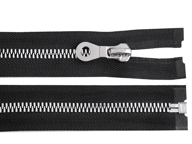 Kostěný zip šíře 8 mm délka 80 cm