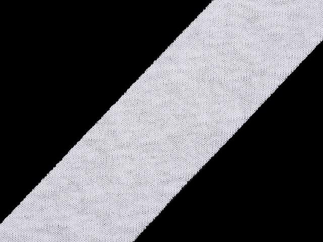 Šikmý prúžok bavlnený elastický šírka 30 mm nezažehlený