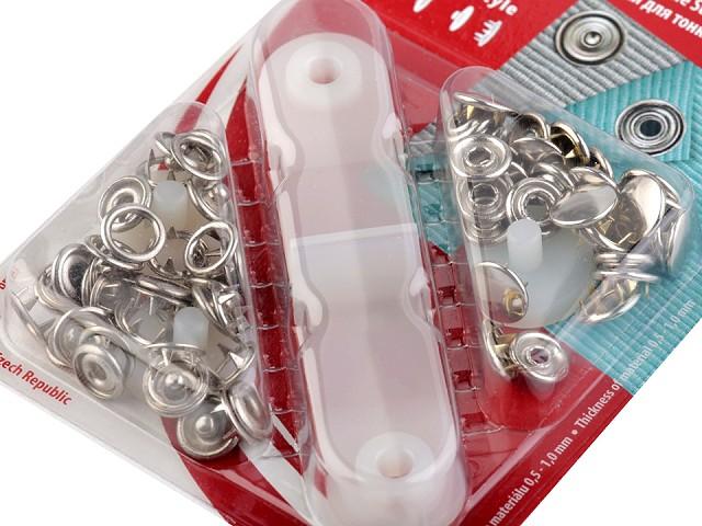 Capse metalice cu aplicator, Ø11 mm