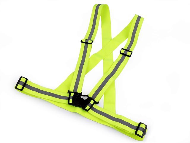 Reflexné elastické traky pre dospelých šírka 4 cm
