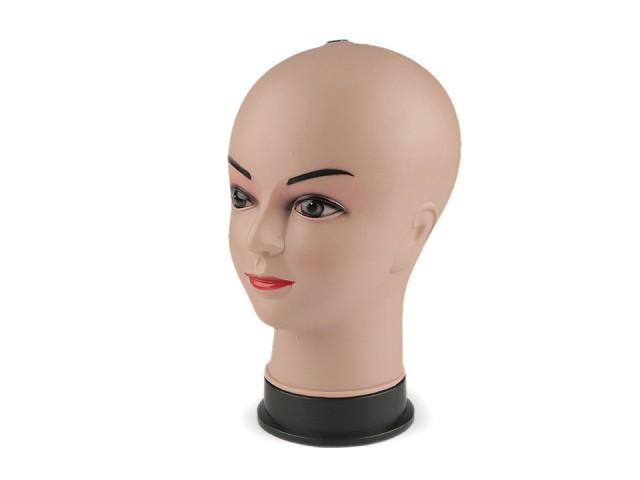 Hlava dámská aranžérská 26x13 cm 2. jakost