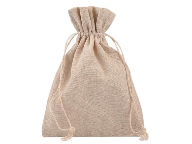 Darčekové vrecúško 13x18 cm ľanové