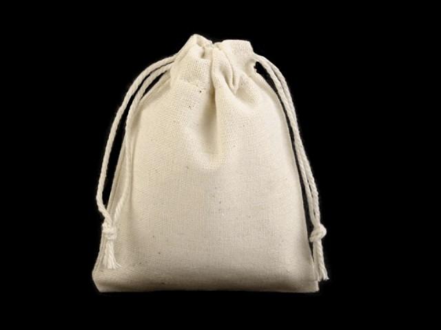 Săculeț pânză de in, 6,5x8,5 cm