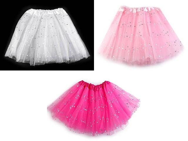 Karnevalová suknička s flitrami