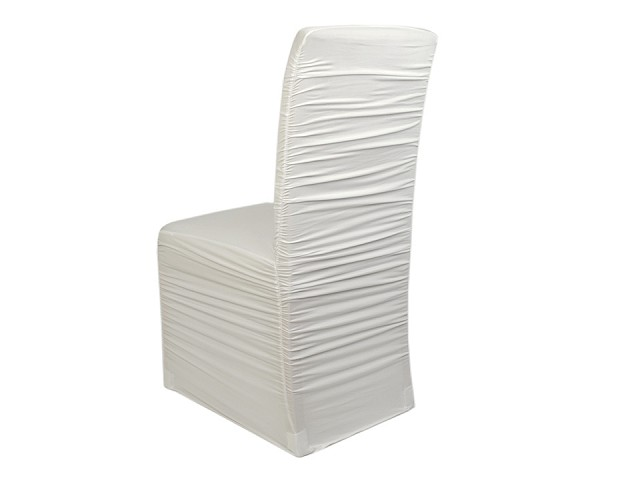 Elastický návlek na stoličky  riasený