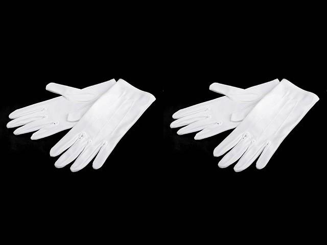 Společenské rukavice pánské, saténové